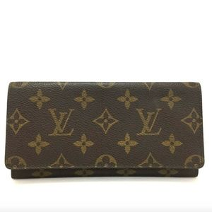 Louis Vuitton Monogram Porte Checkbook Wallet